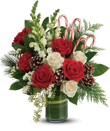 Festive Pines Bouquet